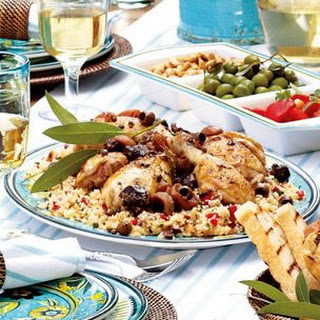 Slow-Cooked Mediterranean Chicken