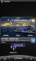 Screenshot of Volume Selector Free
