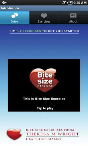 Bitesize Exercise