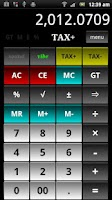 Screenshot of Calculator B16