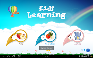Screenshot of Kids Learning: Fruits & Veges