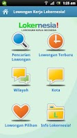 Screenshot of Lowongan Kerja Lokernesia!