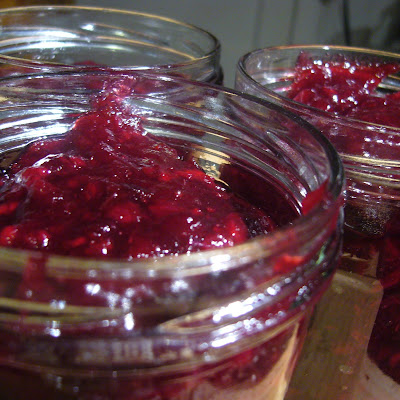 Cosmopolitan Cran-Grape Sauce