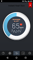 Screenshot of Instant Heart Rate