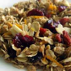 Low-Fat Citrus Granola