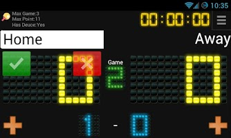 Screenshot of ScoreTrack