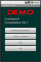 Screenshot of Crossword Coll. DEMO Vol. 1