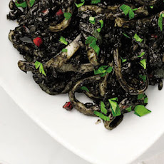 Arroz Negro - Black Rice Recipe