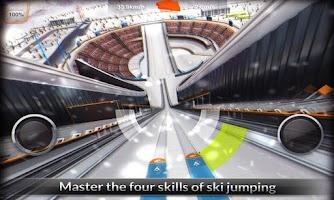 Screenshot of Super Ski Jump Free