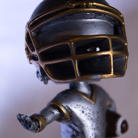 Football man by Ricky Stevens - Artistic Objects Toys (  )