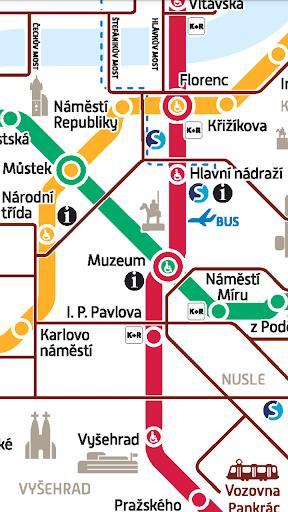 Prague Public Transport Pro - screenshot