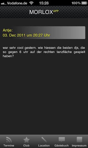 MORLOX App