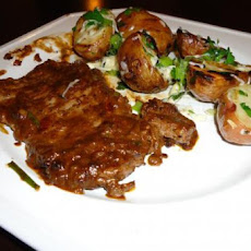 Famous 21 Club's Steak Diane