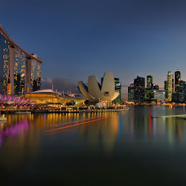 Skyline (MBS) by Ken Goh - City,  Street & Park  Skylines
