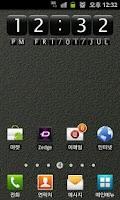 Screenshot of Digital Clock Widget StoneEx