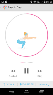 FitMama 5 minute workouts - screenshot