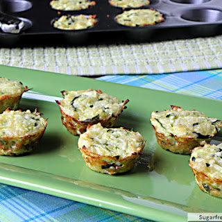 Mini Quinoa Zucchini Cheese Bites
