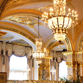 Hotel de Paris, Ball saal by Victor Eliu - Buildings & Architecture Architectural Detail ( big dancing, details, ceiling, monte carlo, hotel de paris, architecture, Architecture, Ceilings, Ceiling, Buildings, Building )