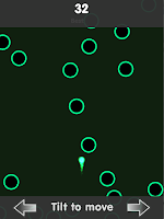 Screenshot of Avoid the Circles+