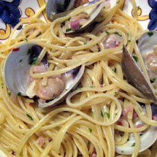 Linguine with Cockles and Guanciale