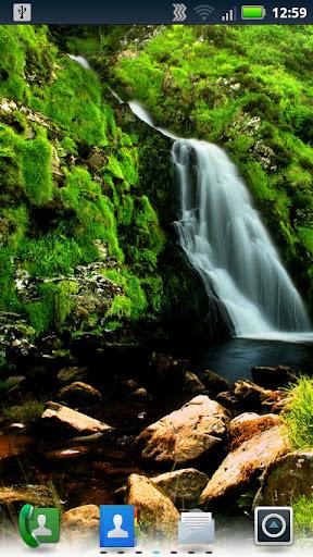 風景秀麗的瀑布壁紙