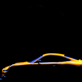 Lit! by Gerd Moors - Artistic Objects Toys ( car, orange, toy, porsche, light, black, top,  )