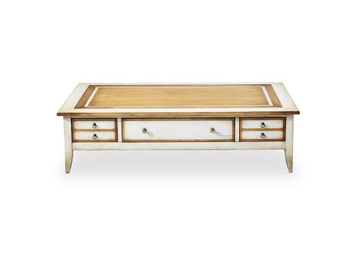 Acheter grande table rectangulaire factory bois verre - Table basse crozatier ...