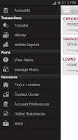 Screenshot of CSBT Mobile Banking