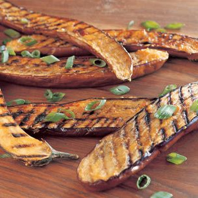 Miso-Glazed Grilled Asian Eggplant