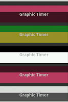 Screenshot of Graphic timer