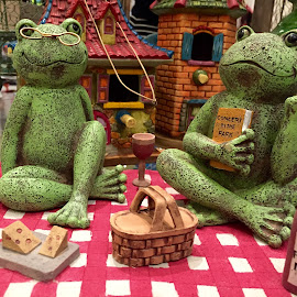 Frogs by Lope Piamonte Jr - Novices Only Objects & Still Life