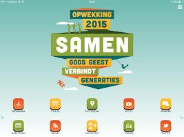 Screenshot of Opwekking 2015
