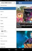 Screenshot of Macomb Daily