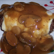 Mushroom Swiss Chopped Steak