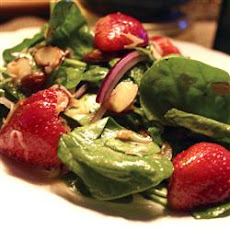 Spinach and Strawberry Daiquiri Salad