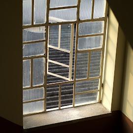 Symmetry by Prasanta Das - Buildings & Architecture Other Exteriors ( window, lines )