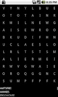 Screenshot of Find the hidden words