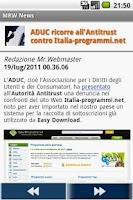 Screenshot of Mr.Webmaster News