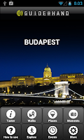 Screenshot of Budapest GUIDE@HAND