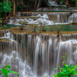 Waterfall Thailand by John Greene - Landscapes Waterscapes ( water.john greene, nature, carrigallen, waterfall, thailand, scenic, natural )