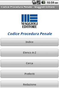 Codice Procedura Penale - screenshot