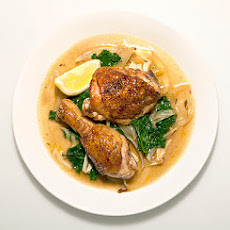 Google's Braised Chicken and Kale