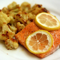 Dinner Tonight: Salmon with Roasted Cauliflower