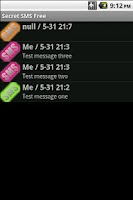 Screenshot of Secret SMS Free