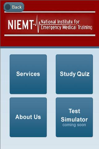 NIEMT EMT Paramedic Train