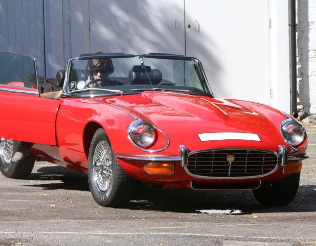 harry styles jaguar e-type