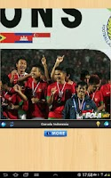 Screenshot of Sepakbola Indonesia