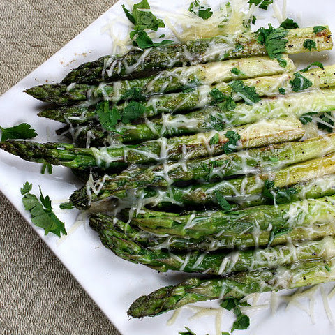 Sauteed Asparagus with Butter and Parmesan