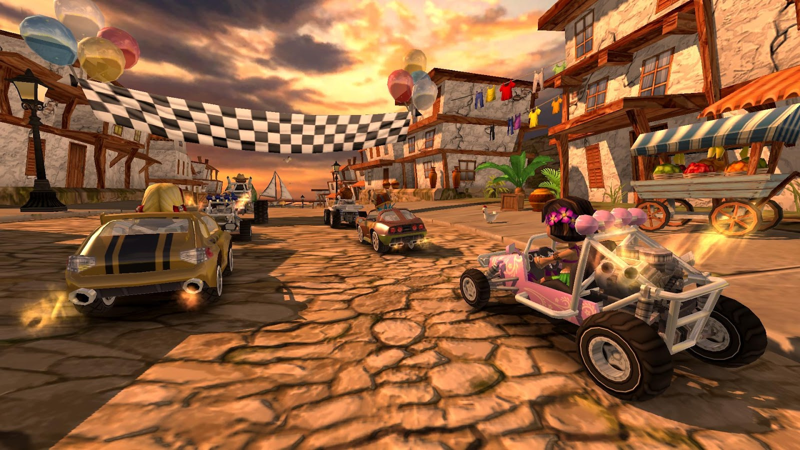 Beach Buggy Racing Screenshot 0