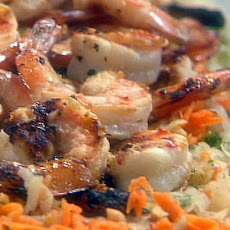 Grilled Shrimp and Green Papaya Salad